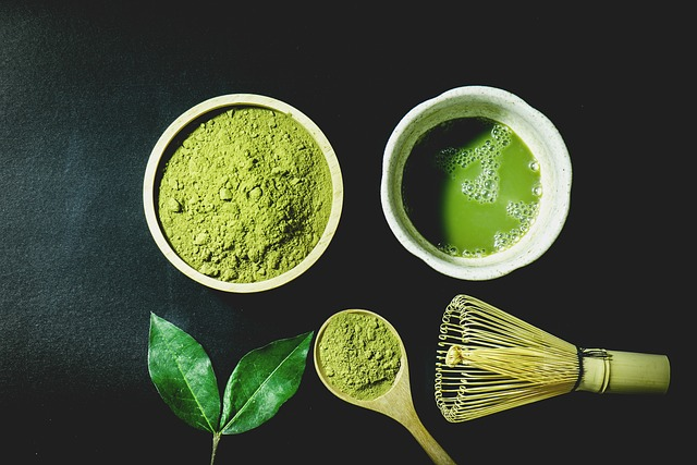 zelená matcha